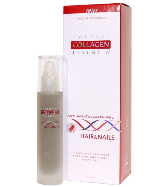 Natural Collagen Inventia Hair&Nails Kollagenserum