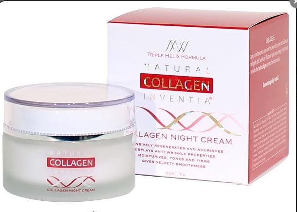 Natural Collagen Inventia Nachtcreme Night mit Kollagen