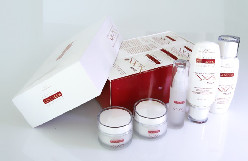 Perfect Skin Natural Collagen Inventia Regenerations Set 5 teilig