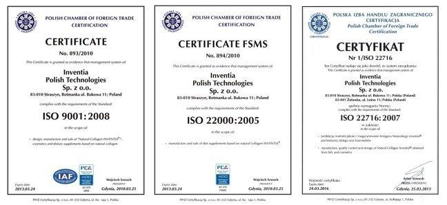 ISO Zertifikat Inventia
